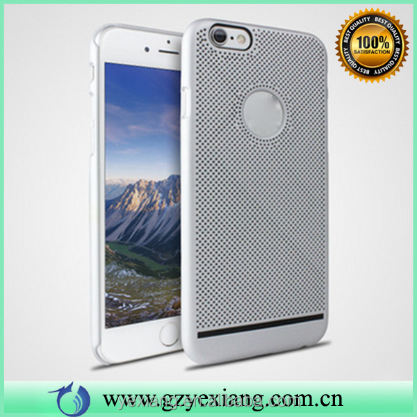 High quality heat dissipation hard pc plastic back cover for iphone 5s customized cellphone case