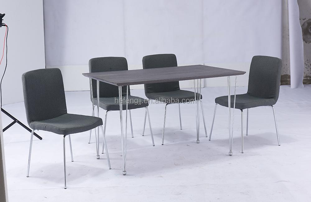 2016 nieuwe ontwerp 1 4 houten eettafel set eetkamer sets product id 60444601318 - Moderne eetkamer set ...
