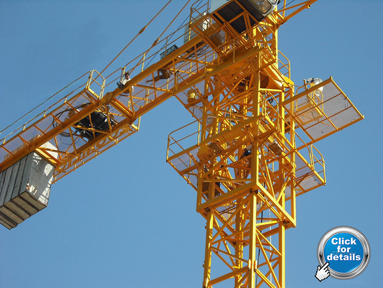 Tower Crane Signals : Tower crane construction hydraulic lift mobile