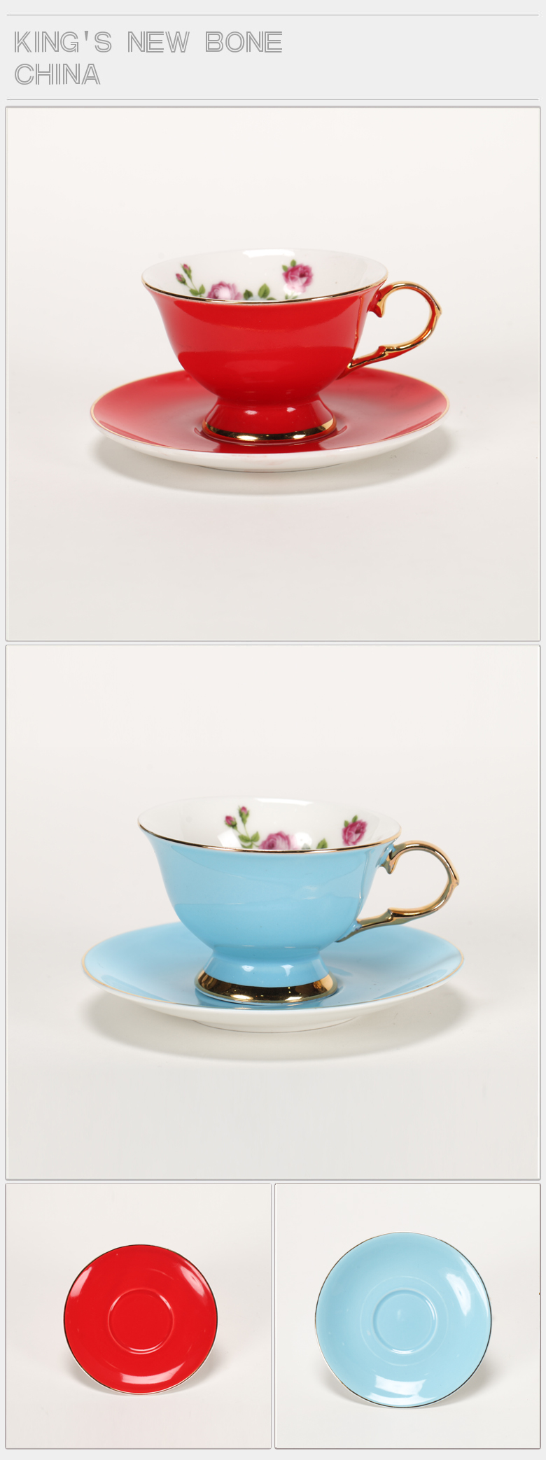 2020 arabic luxury ceramic coffee Color glazed cup with saucer