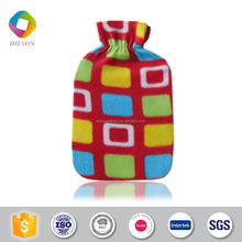 competitive price fleece hot water bottle cover