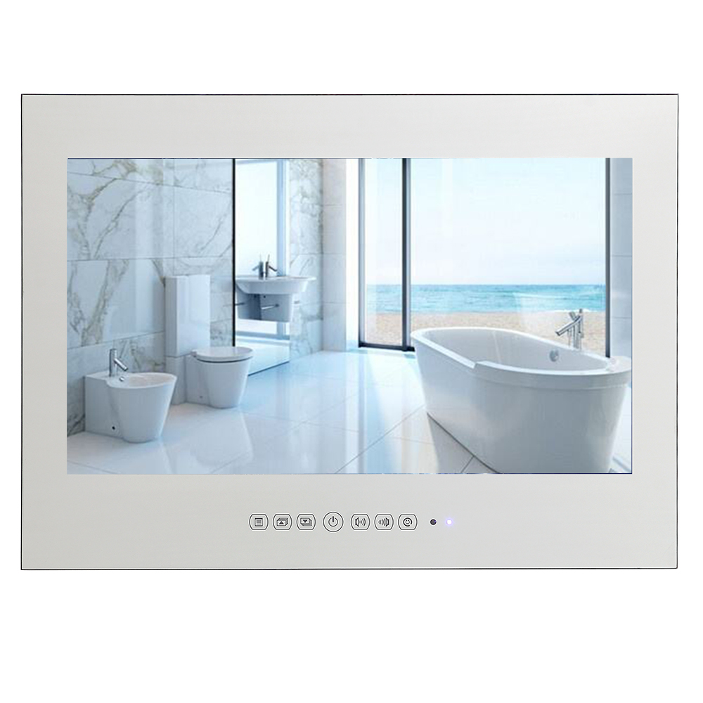 "21.5"" Magic Mirror Wall Mounted Bathroom Waterproof Flat Screen LED <strong>TV</strong>"