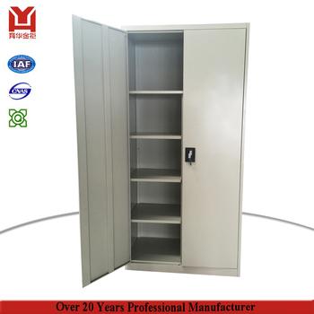 2 Doors Metal Cabinets Steel Locker For Dorm Office School Gym