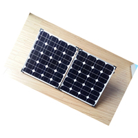 A+ grade high efficiency 80w folding mono solar panels from Chinese manufacturer