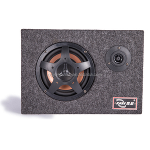 RMS 80-200W ACT Speaker 4 Channel Car Bass Subwoofer