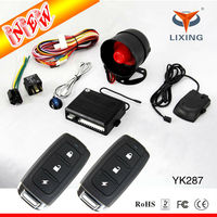 2014 Newest car alarm security system with voice function