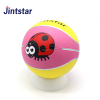 promotional cheap mini rubber basketballs for sporting games basketbal ball