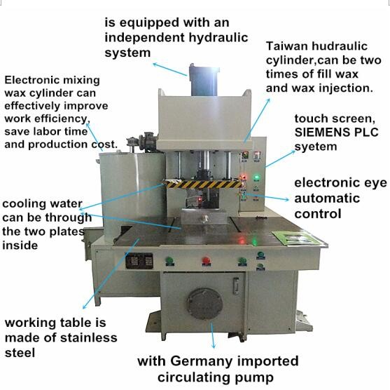 Complete series casting Foundry machines investment casting