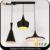 Loft vintage industrial metal lamp shades black aluminum pendant light
