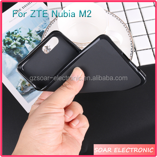 [Soar]Blank Matte Pudding TPU Soft Phone Case Cover For ZTE Nubia M2