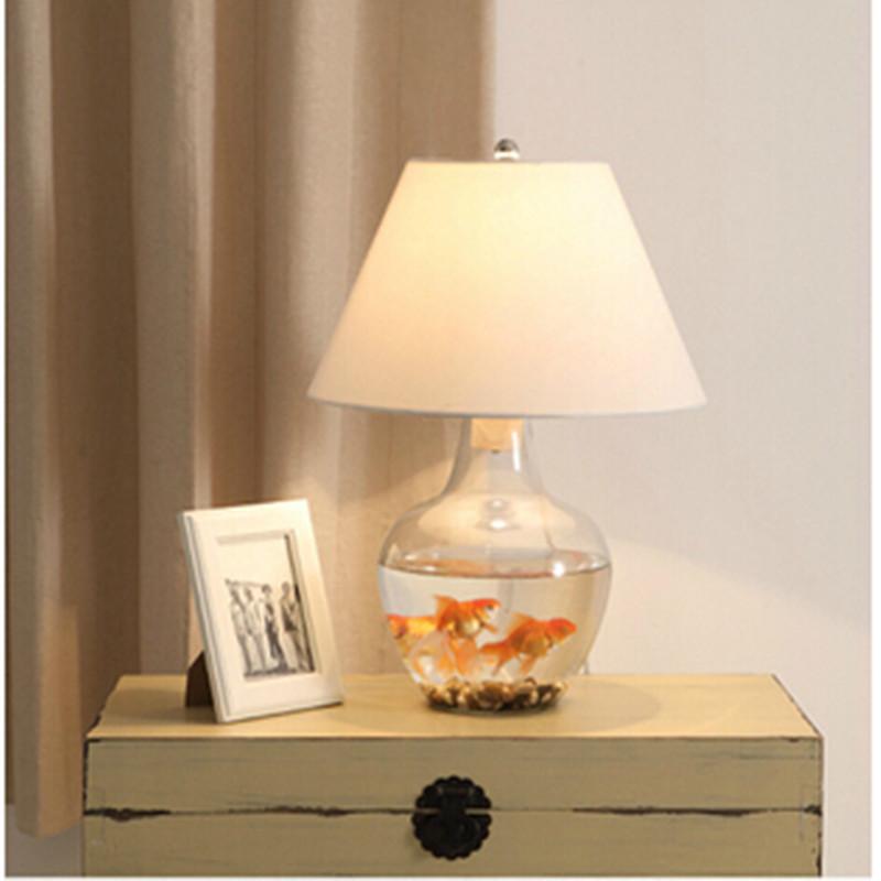 Aliexpress.com : Buy Modern DIY Glass Table Lamps bedroom ...