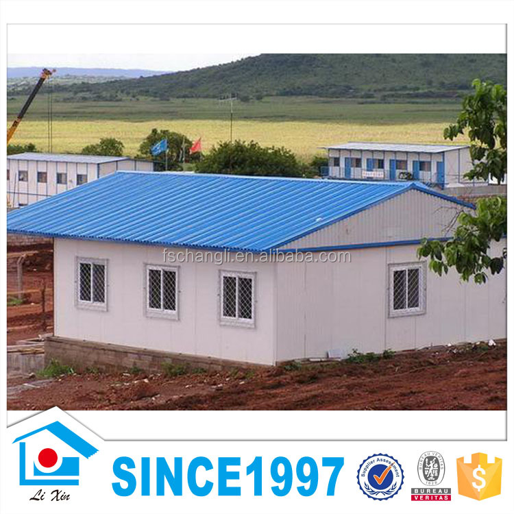 India Low Cost Prefabricated Container Warehouse Building House Prices