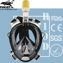 One Part Design Anti- Fog Technolog Diving Full Face Mask Manufacturer In China