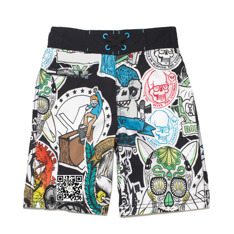 Adults Age Group and OEM Service Supply Type 2017 Custom Printed Design Board Shorts Mens