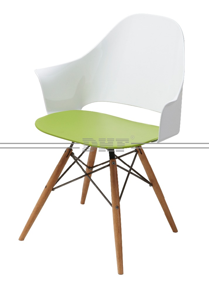 Custom Pretty Leisure Design Plastic Chair