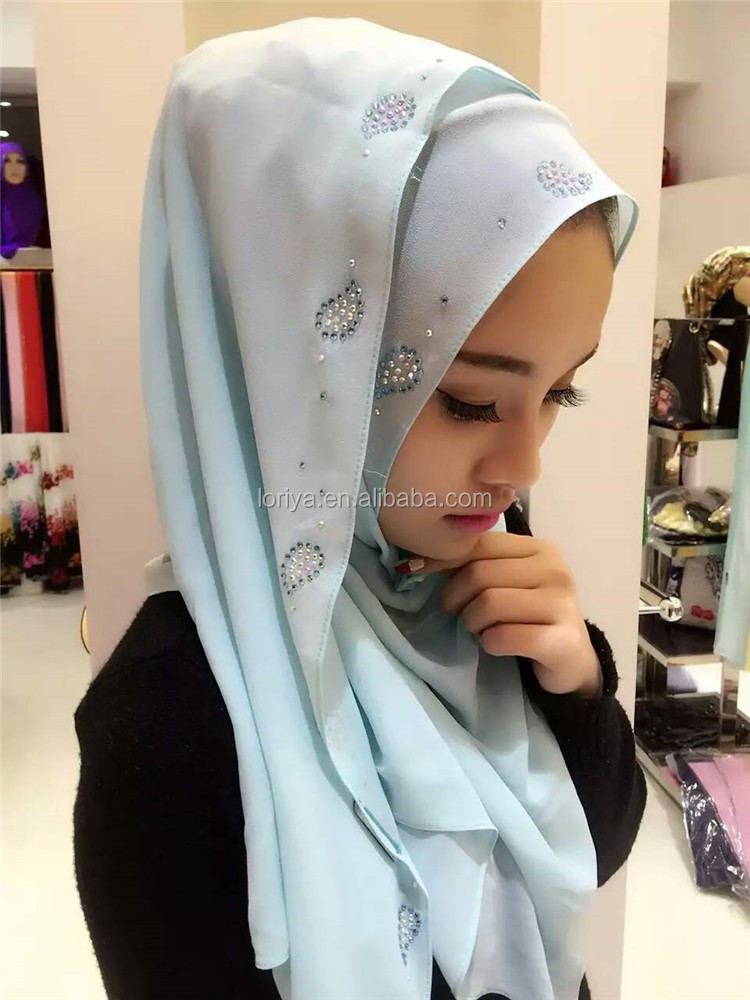 Islamic hijab arab style fashion design muslim scarf hijab