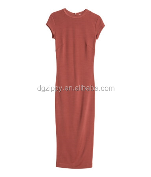 acca046264 Zippy 2014 New arrival plain midi dress dresses for mother of graduate