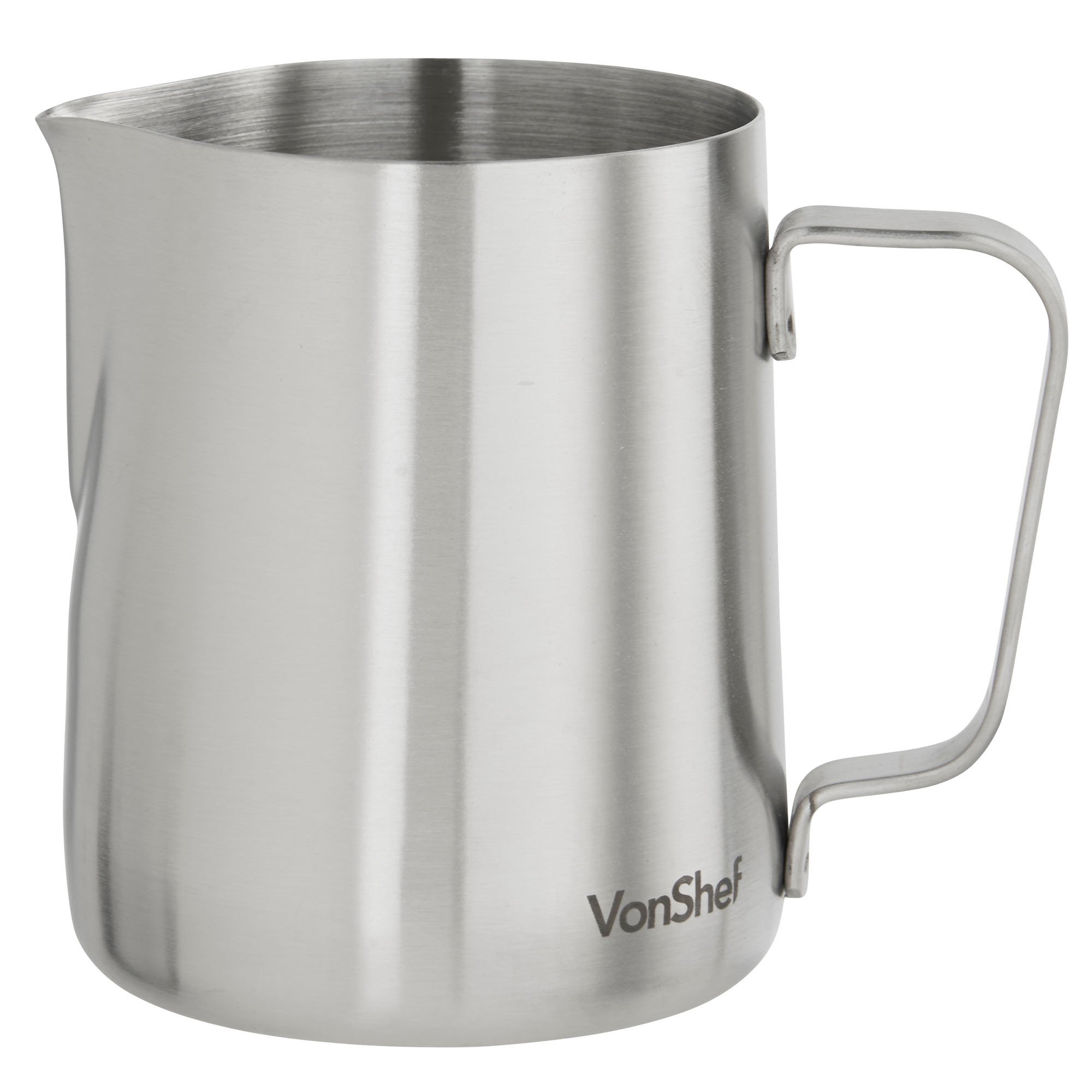 Buy VonShef 20 Ounce Milk Frothing Pitcher Jug, Stainless