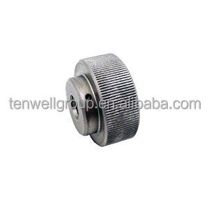 CNC Machined High Quality Knurled Aluminum Nut