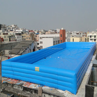 high quality cheap heated custom family inflatable swimming pool