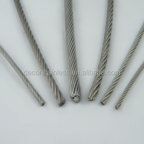 hot dipped galvanized steel wire rope