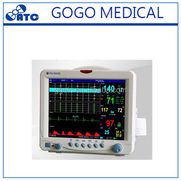 Portable patient monitor multi parameter contec patient monitor price