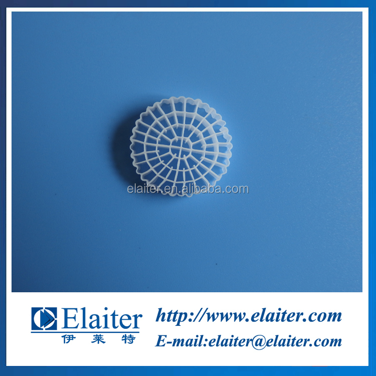 Injection plastic modling type MBBR filter media biochip carrier