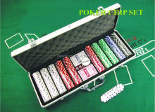 Professional Casino texas holdem poker chip set