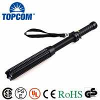 Baton self-defense Weapons Rechargeable baton police hunting spot torch light