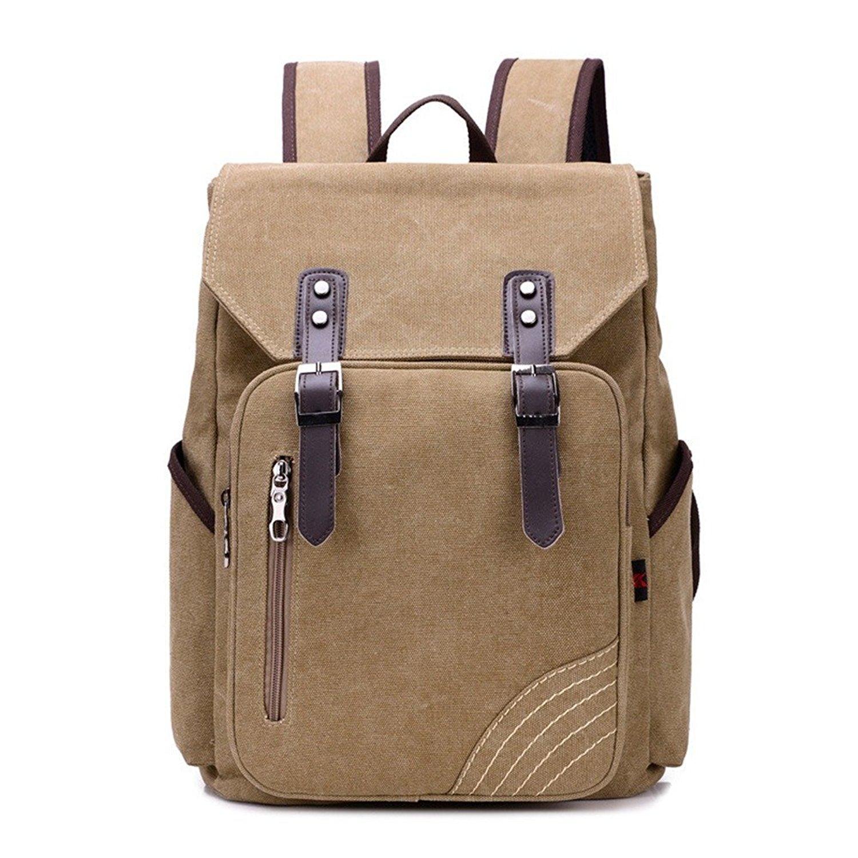 Buy Fueken Canvas College Backpacks for Girls Laptop Book Bags ... dbd0dc9845