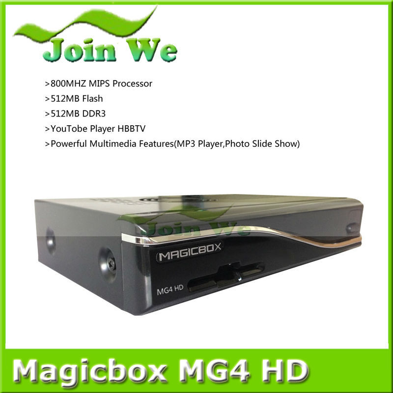 MAGICBOX MG4 HD Multiple LNB Control 300M wifi DVB s2/t2/c tuner Satellite TV Receiver