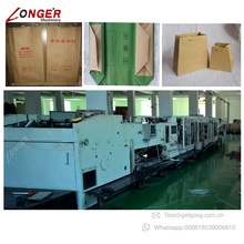 Cement Paper Bag Making Machine Cement Packaging Bags Machine