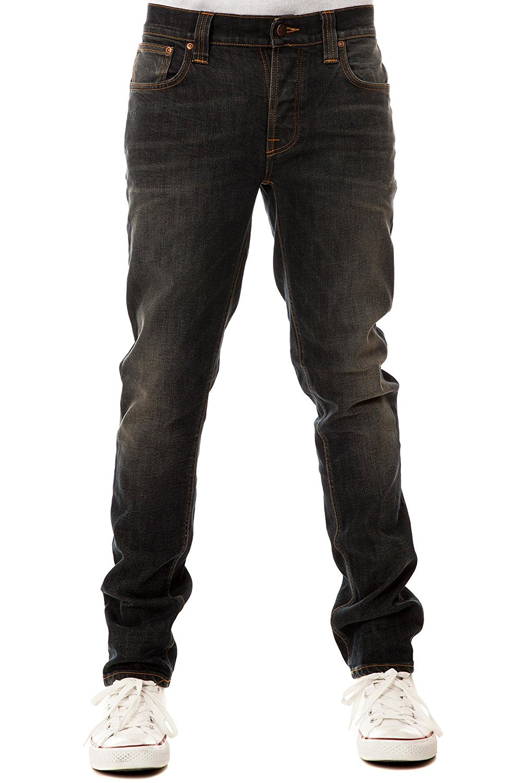 6f82b68b06 Get Quotations · Nudie Jeans Men s Grim Tim Organic Wornin Pepper Jeans