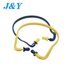 High Fidelity Sound Insulation Reduction Soft Silicon Headband Silicone Earplug Wired Swimming Ear Plug Logo Ce With Ansi As/nzs