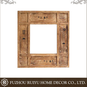 Wholesale high quality wooden frame hand carved decorative wood