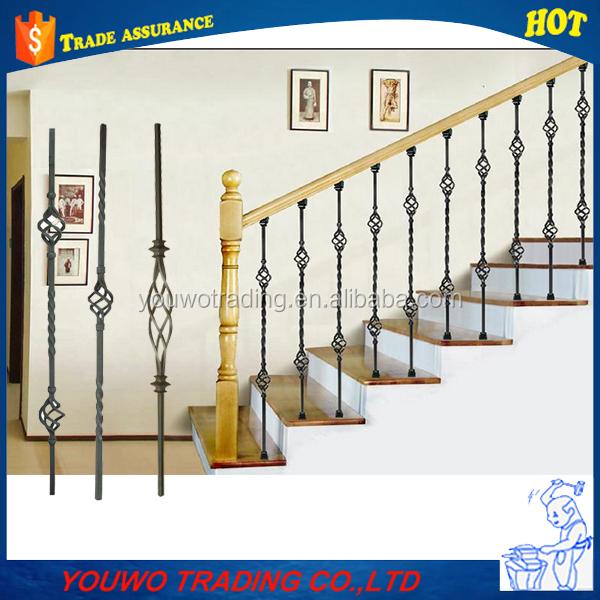 De metal de acero exterior balc n barandilla de escalera for Barandilla escalera exterior