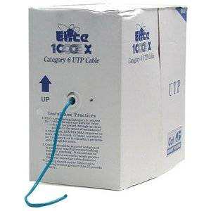 "Startech 1000 Ft Roll Of Blue Cmr Cat 6 Solid Utp Bulk Cable . 1000Ft . Blue ""Product Type: Hardware Connectivity/Connector Cables"""