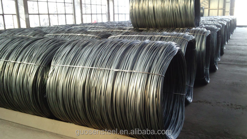 6mm hot rolled low carbon steel wire coil/low price high carbon spring steel wire /