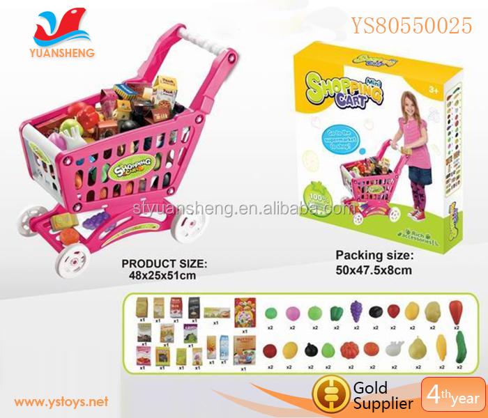 divertido juego infantil carrito de la compra carritos de comida de juguete juego de cocina para