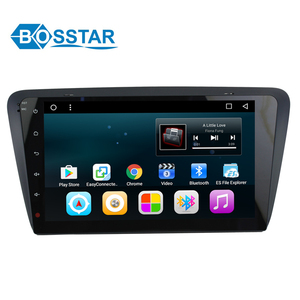wholesale price car DVD GPS navigation multimedia stereo system player for SKODA OCTAVIA 2015