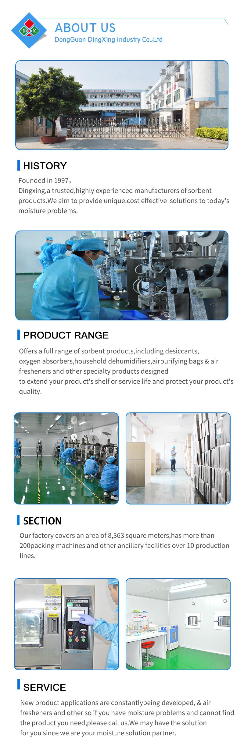 Food Grade Iron Powder FDA Approval 20-2000Cc Oxygen Absorbers For Food Packaging