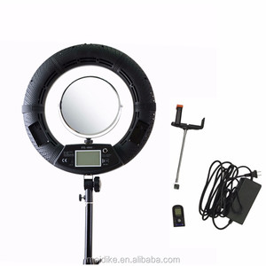 Yidoblo FE480II with remote, beauty mirror continuous Ringlight HDR Portrait led ring light photographic equipment