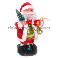 Hot Selling Electric Decoration Christmas Moving Santa Claus