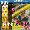 High quality Hellosilk tussah silk fabric made in china
