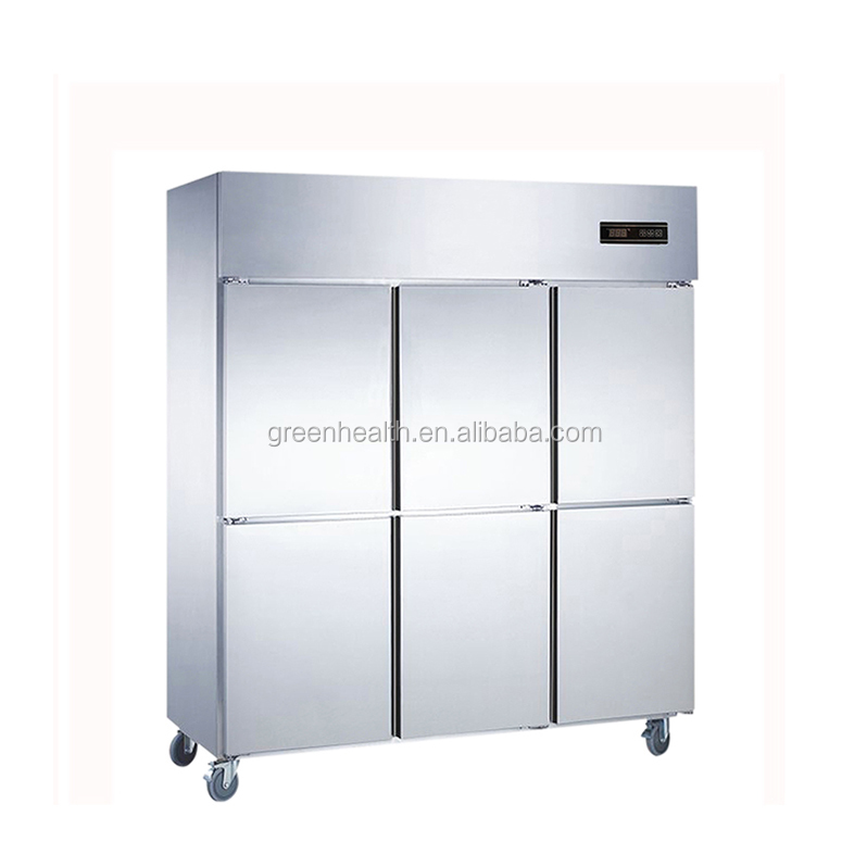 kitchen freezer temperature/kitchen refrigerator guangzhou/kitchen stainless steel refrigerator