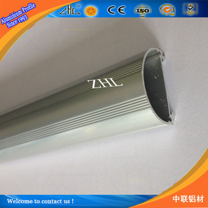 6000 series u aluminium profile for t5 light / glass aluminium c channel profile / aluminum profile for led