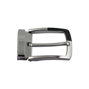 Fashion Metal Zinc Alloy Pin Tail Clip Clamp Belt Buckle Manufacturer For Casual Belt