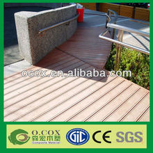 China Manufacturer WPC Wood Plastic Composite Timber Decking