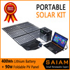 Solar power generation system portable power supply