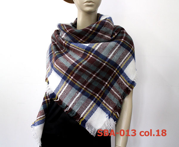 cashmere feel 100 acrylic shedding beatiful girls acrylic scarf